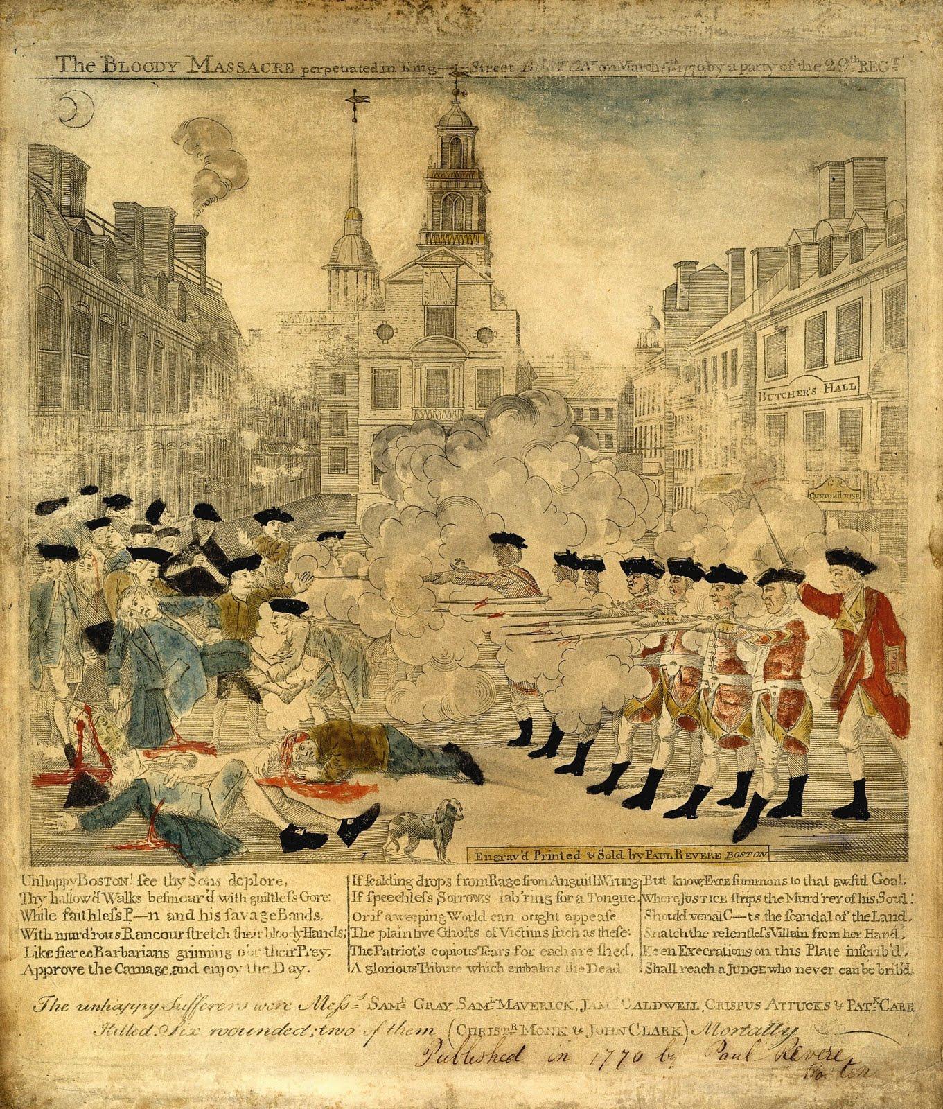 american revolution term paper