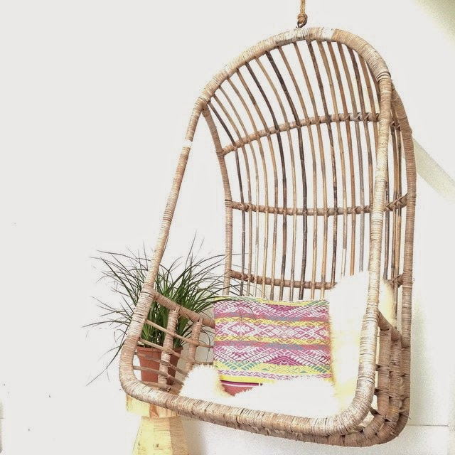 #thriftscorethursday Week 58 | Instagram user: herenortherestudios shows off this Boxy Hanging Chair