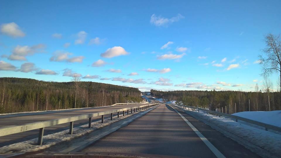 En el centro de Finlandia.