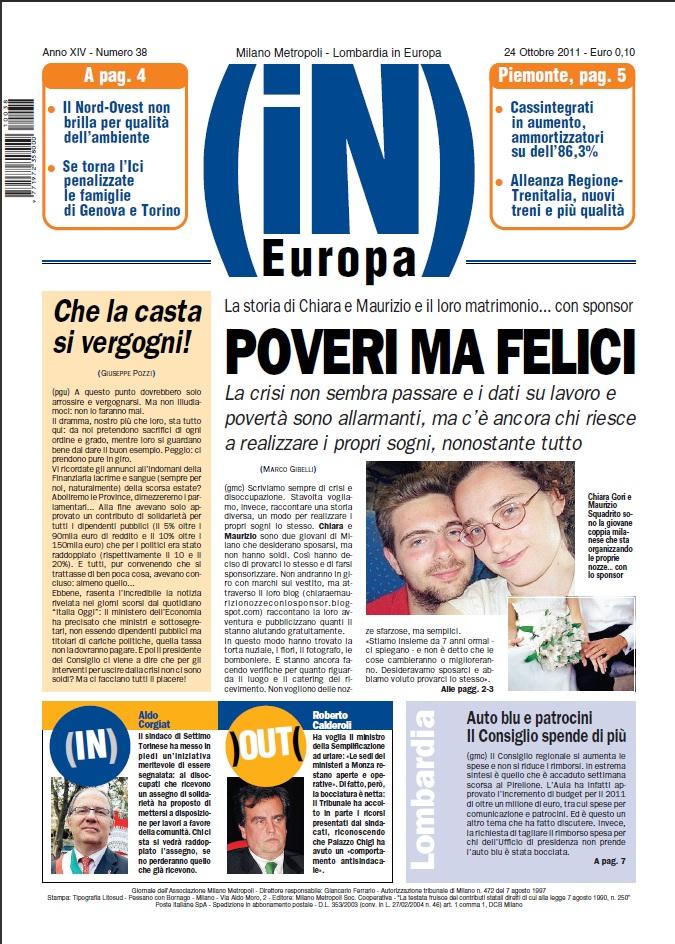 Matrimonio In Europa : Chiara e maurizio matrimonio con lo sponsor pubblicati