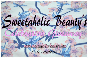 Sweetaholic Beauty's Giveaway