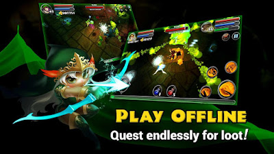 Dungeon Quest V2.0.0.2 MOD APK+DATA