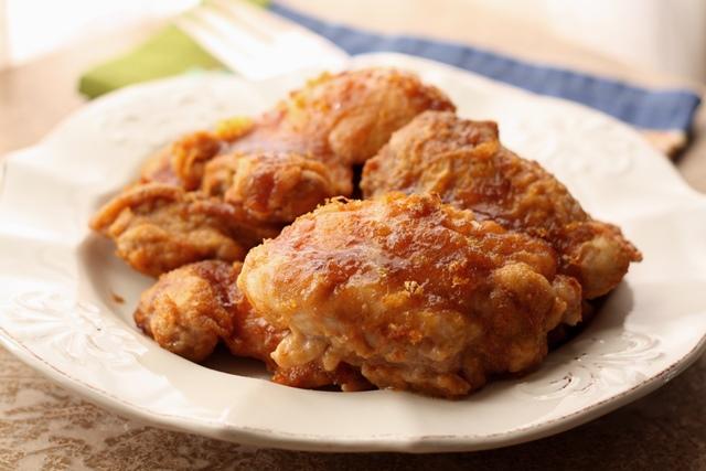 Citrus Brown Sugar Chicken recipe by Barefeet In The Kitchen