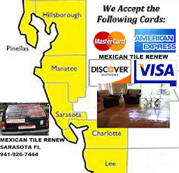 TILE AND GROUT CLEANING: MEXICAN TILE RENEW: Clean Mexican Tile Sarasota to St Pete Fl