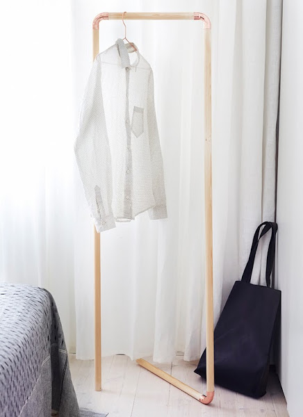 Colgador decorar tu casa es for Colgador ropa pared