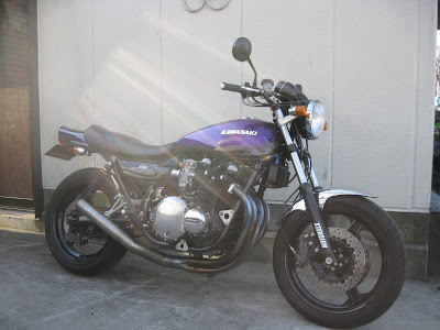 kawasaki Z1  XTENSION Motorcycles