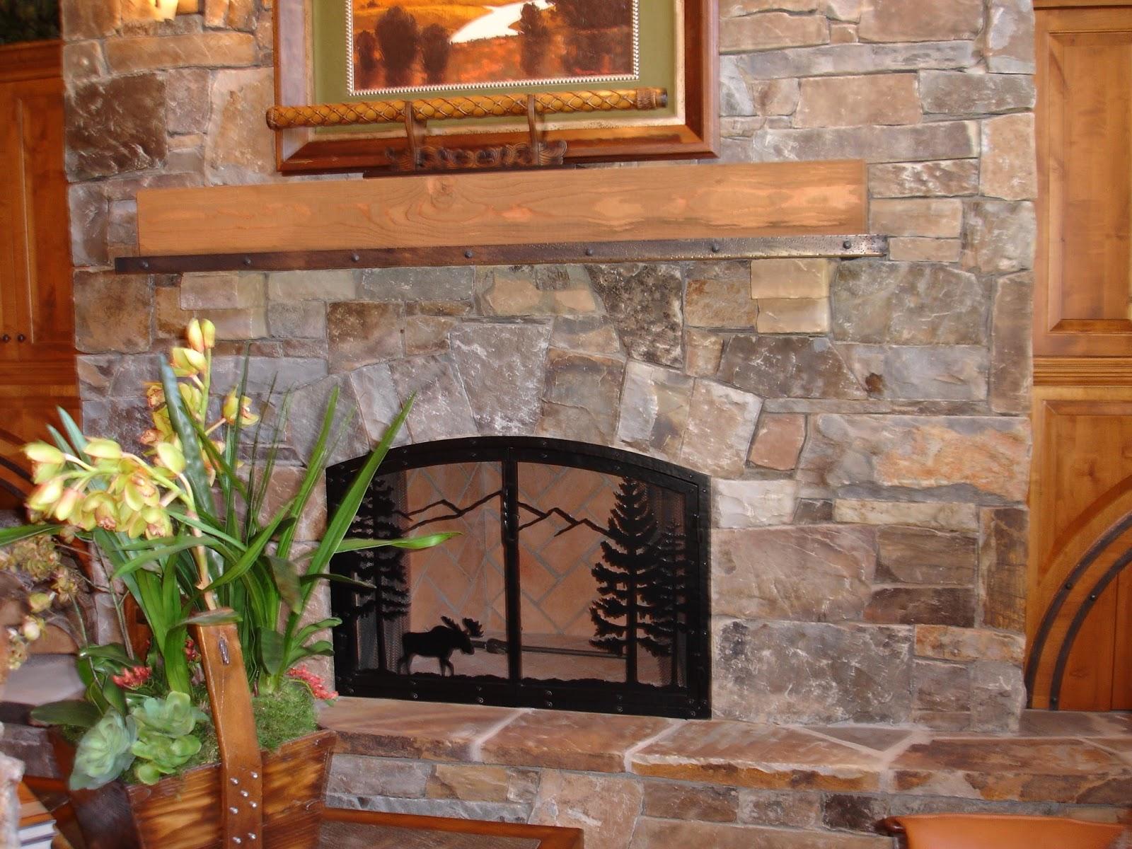 Keystone Masonry Keystone Arch Fireplace