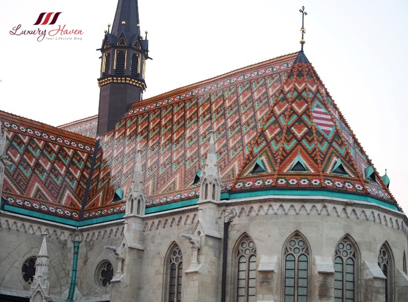 hungary budapest matthias church buda castle district