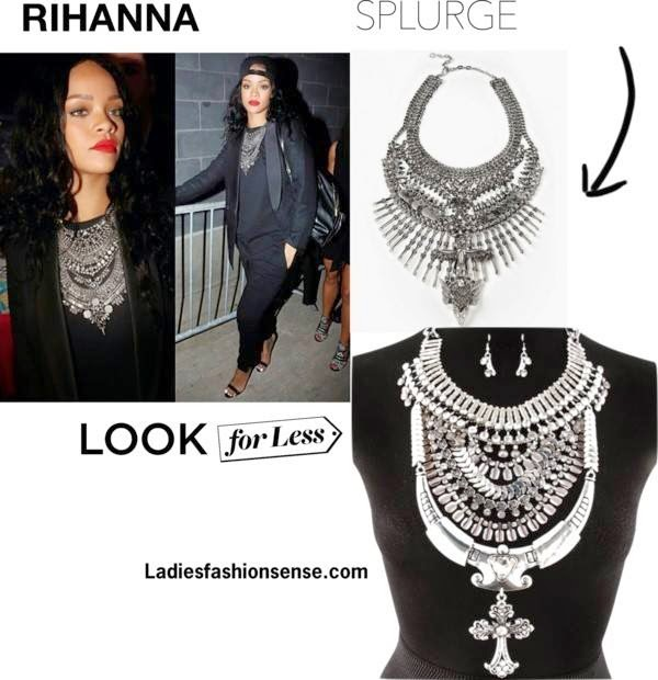Rihanna Look For Less