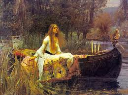 The Lady of Shalott (John William Waterhouse)
