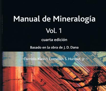 Manual de mineralog a vol 1 geolibros libros gratis de for Manual de muebleria pdf gratis