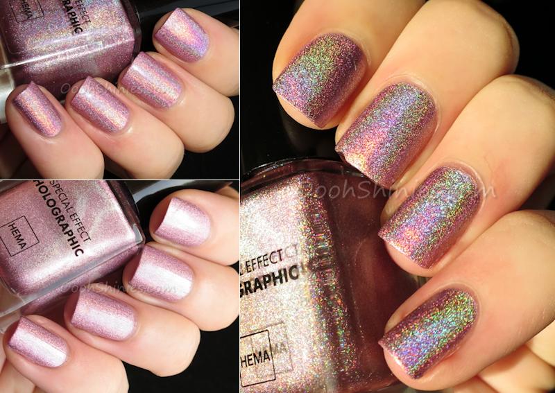 HEMA Holographic Pink