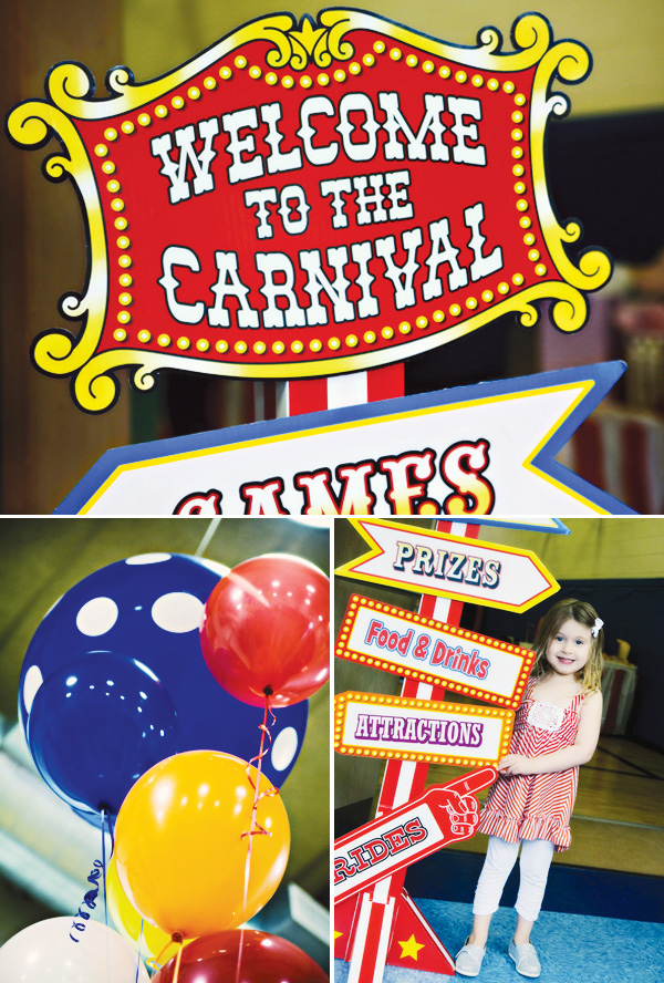Carnival birthday party ideas carnival birthday party supplies birthday party concepts - Carnival theme party supplies ...