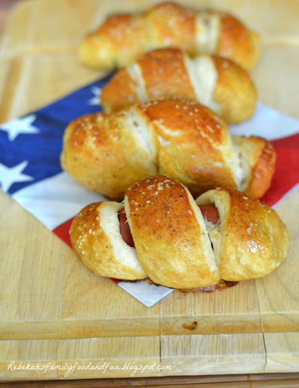 Family, Food, and Fun: Mini-Pretzel Dogs