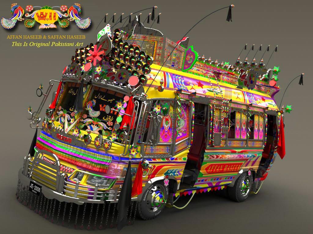 pakistani bus