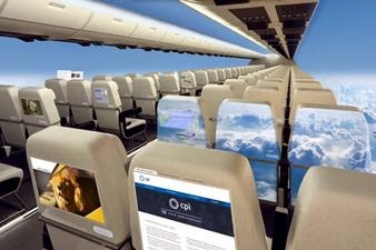 Passenger Planes WITHOUT Windows Could Be A Reality In The Near Future