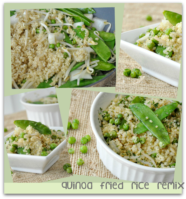 Vegetarian Quinoa Fried Rice Remix