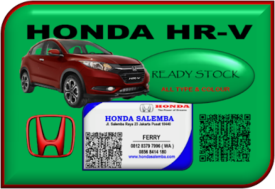 HONDA HR-V READY STOCK