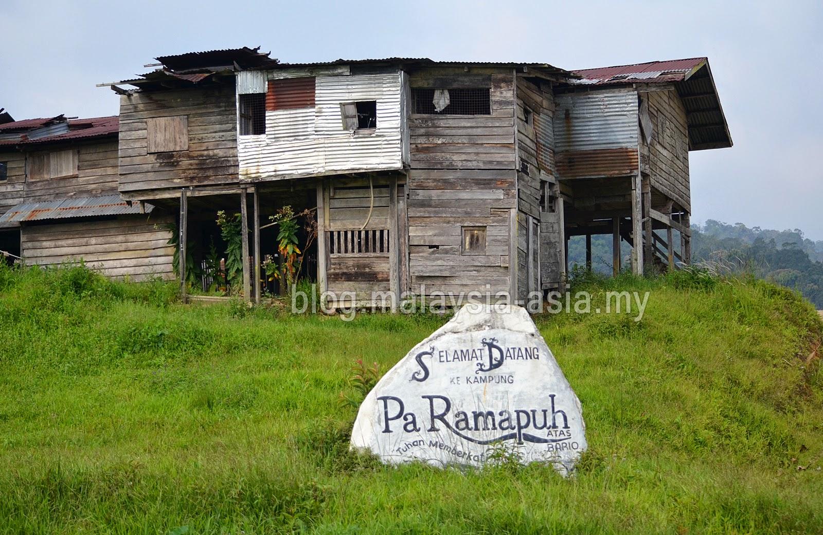 Bario Pa' Ramupuh Longhouse