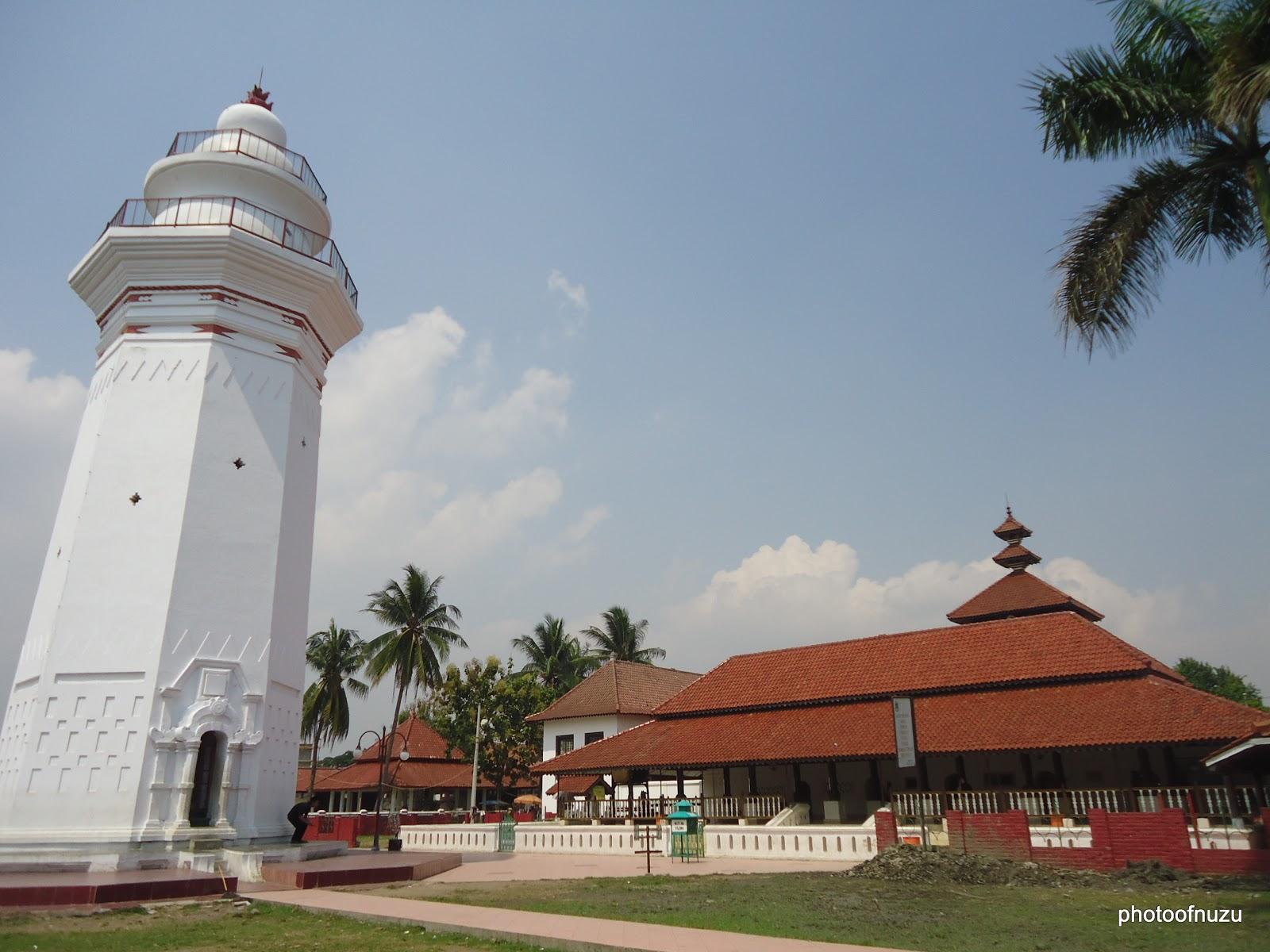 Gambar Mesjid Agung Banten - Maulana Muhammad Naik Tahta