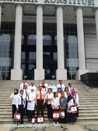 Study Tour ke Perpustakaan Mahkamah Konstitusi
