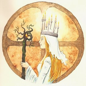 Imbolc Headpiece