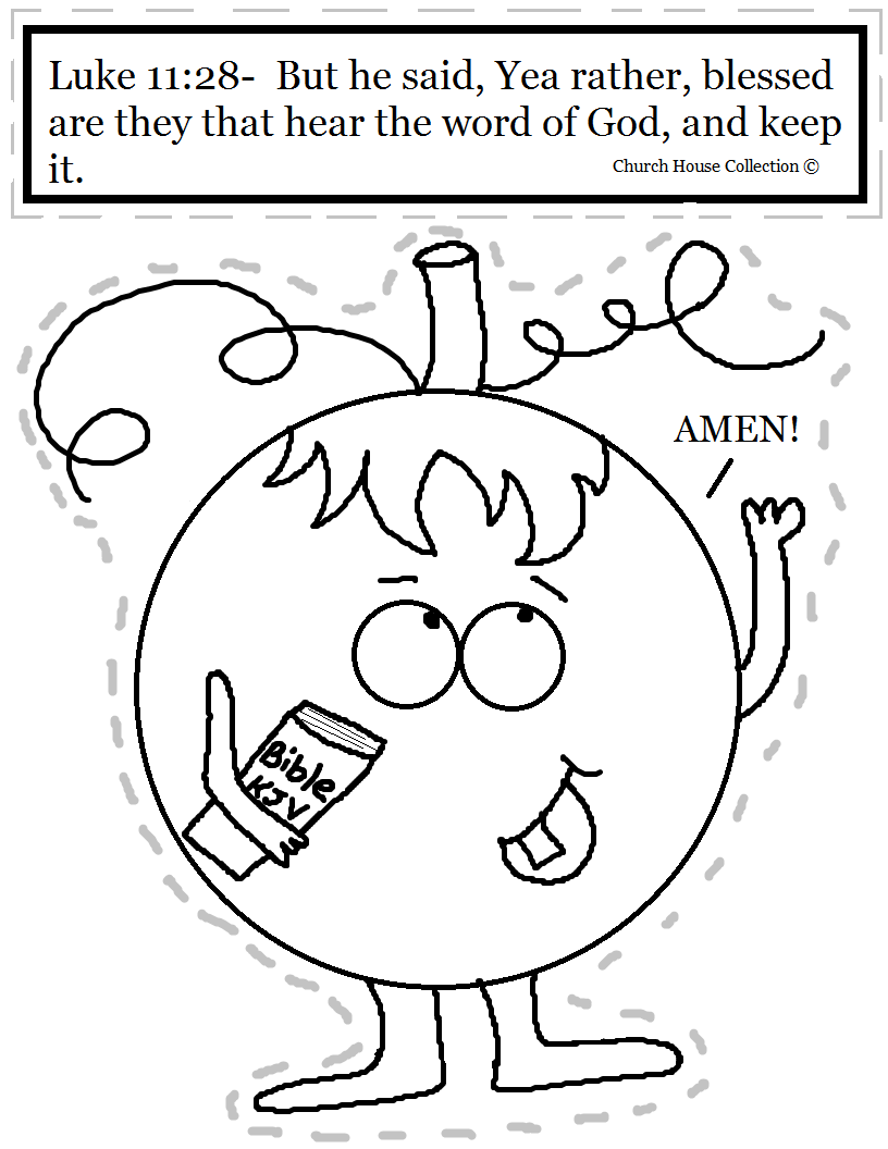 Free Printables For Kids Church