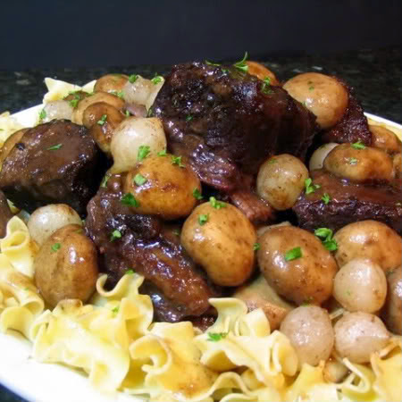One Perfect Bite: Braised Beef Short Ribs - Away A While Recipe ...