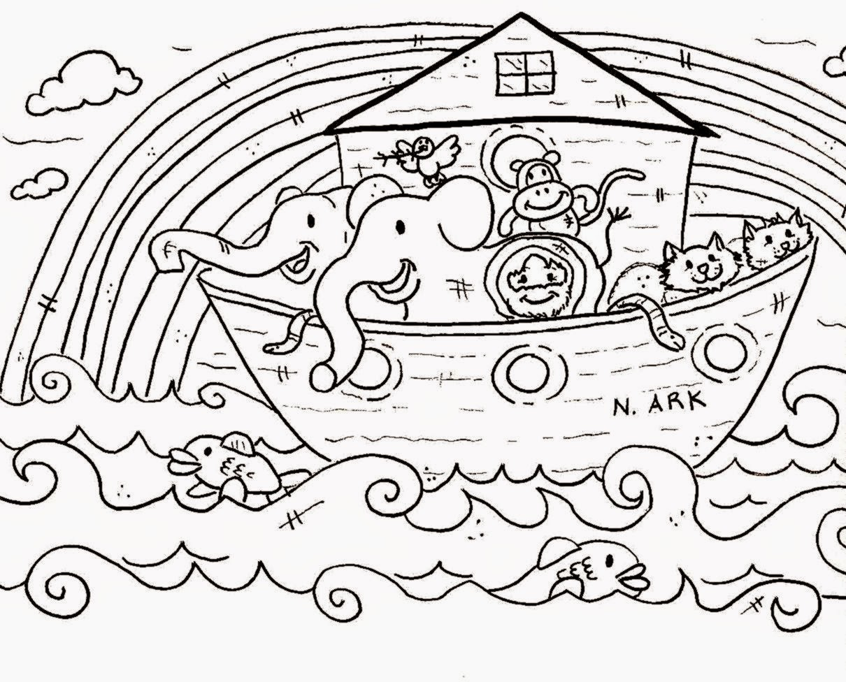 Sunday School Coloring Pages Free Coloring Sheet