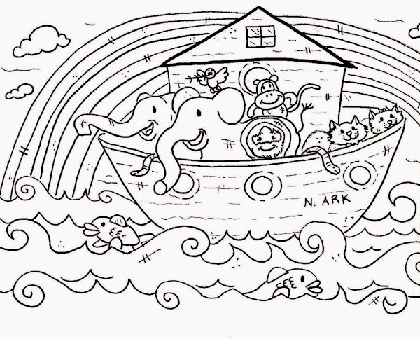 Free Sunday School Coloring Pages Printable