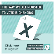 DON'T LOSE YOUR RIGHT TO VOTE- CLICK ON IMAGE TO REGISTER