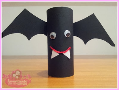 Reciclagem de rolo de papel higiênico Frankstein
