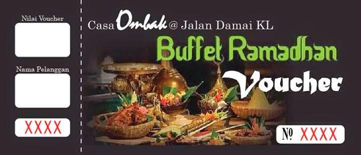 Buffet Ramadhan Casa Ombak, Buffet Ramadhan Casa Ombak Voucher,