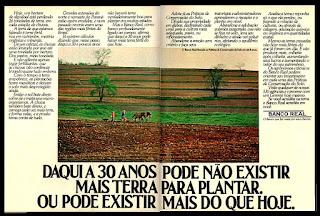 Banco Real, os anos 70; propaganda na década de 70; Brazil in the 70s, história anos 70; Oswaldo Hernandez;