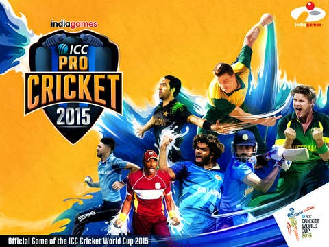 ICC Pro Cricket 2015 for iPhone and iPad