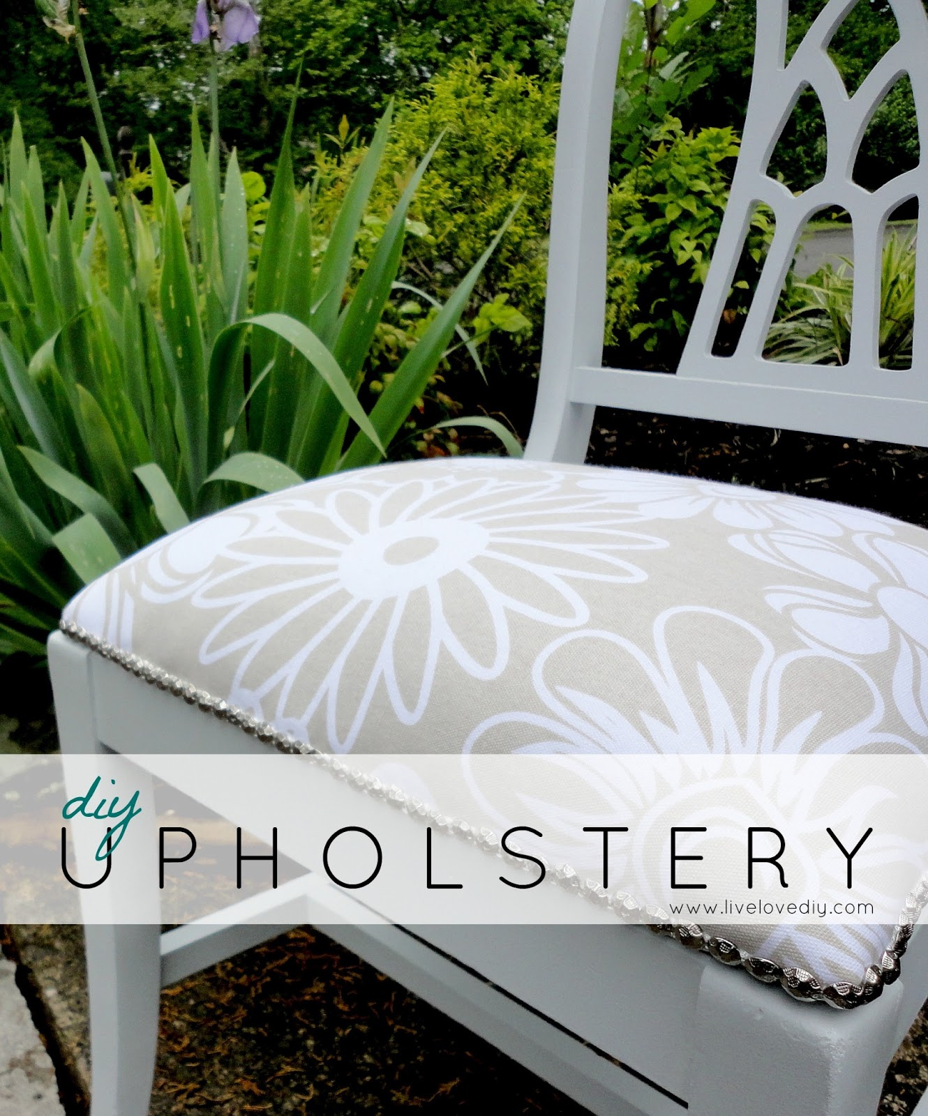 Livelovediy how to reupholster a chair for How to reupholster a chair