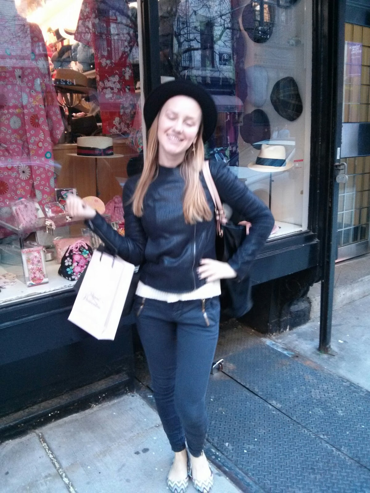 Stetson Hat in NYC