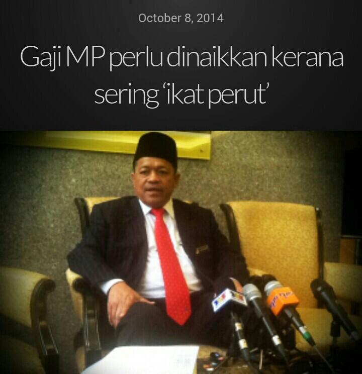 Pakar Ekonomi Kata Gaji RM2 500 Cukup Jika Diurus Dengan Baik Gaji Ahli Parlimen Mencecah RM13 000 Tidak Cukup
