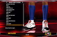 NBA 2K13 Melo's Calf Sleeve Style