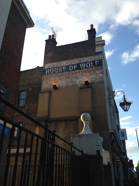 Ghost sign, Essex Road, Islington, London, N1