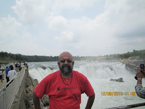 At Duandhar waterfalls.