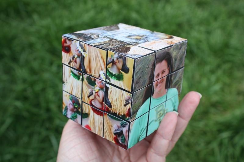Фото на кубиках своими руками 27
