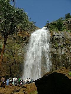 kolli hills water falls