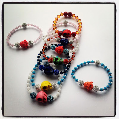 Lady Lu Jewels skull/Buddha collection