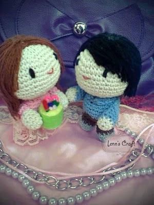 Lenns Craft ♥ Handmade doll♥ Amigurumi ♥ : Birthday Gift doll ...