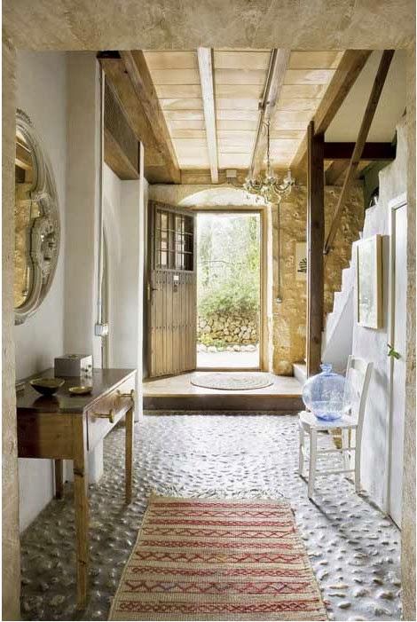 Estilo rustico casa rustica espanola - Casas de madera decoracion ...