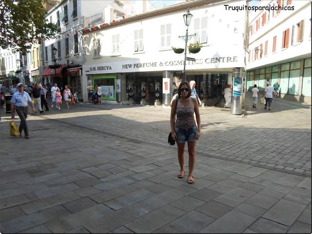 calle compras Gibraltar