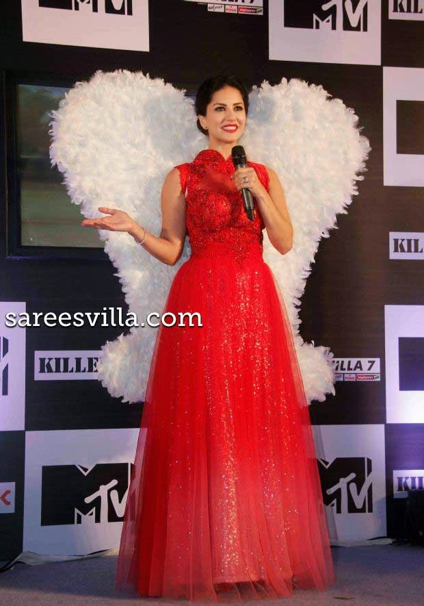 Sunny Leone at MTV Splits Villa Press Conference