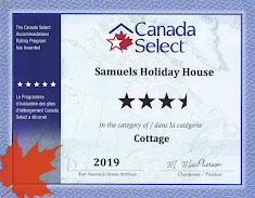 P.E.I. Tourism License -  Canada Select 3-1/2 Stars