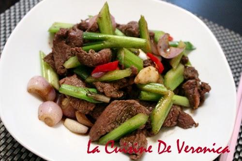 La Cuisine De Veronica 孜然炒羊肉